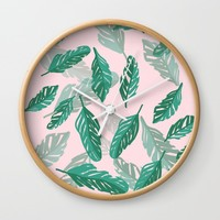 Tropical Wall Clock by sm0w