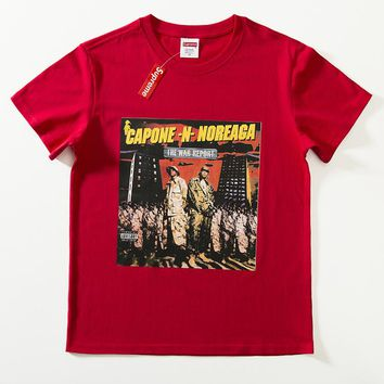 Cheap Women's and men's supreme t shirt for sale 85902898_0045