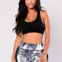 Jamilia Active Sports Bra - Black