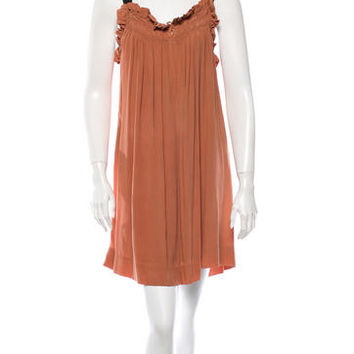 Étoile Isabel Marant Silk Babydoll Dress