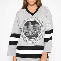 Dimepiece - Grey Hockey Jersey - Grey/Black