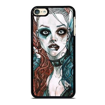 HARLEY QUINN ART iPod Touch 6 Case Cover