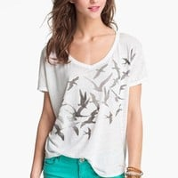 Project Social T 'Cascading Birds' Graphic Tee (Juniors) | Nordstrom