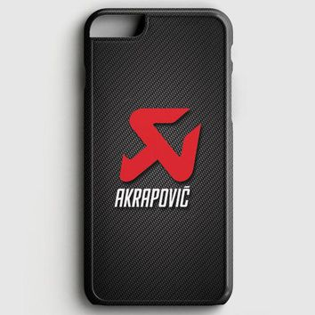 Akrapovic Exhaust System Carbon Motorcycle iPhone 6 Plus/6S Plus Case