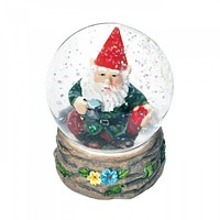 Coffee Break Gnome Mini Snow Globe