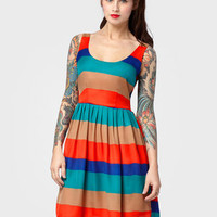 Multi Striped Covet Dress | Shop All BB Dakota Now | fredflare.com