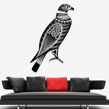 Wall Decal Birds Eagle Predator Tribal Ornament Mural Vinyl Decal Unique Gift (z3171)