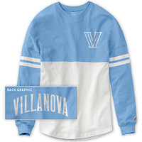 Villanova University Women's Color Block RaRa Long Sleeve T-Shirt | Villanova University