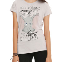Disney Dumbo Standing Out Being Different Girls T-Shirt