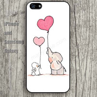 Elephant hot air balloon iphone 6 6 plus iPhone 5 5S 5C case Samsung S3, S4,S5 case, Ipod touch Silicone Rubber Case, Phone cover