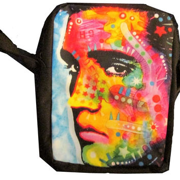 Elvis ( Peter Max Style) Girls or Womens Messanger Bag / Purse