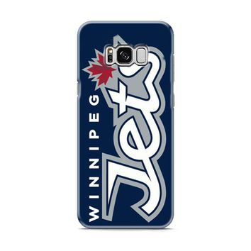 Winnipeg Jets Text Samsung Galaxy S8 | Galaxy S8 Plus case