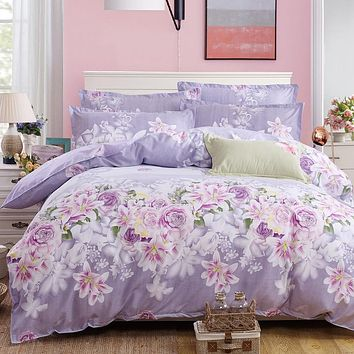 new styles of bedding, four pieces, sheets, quilt covers, pillowcases