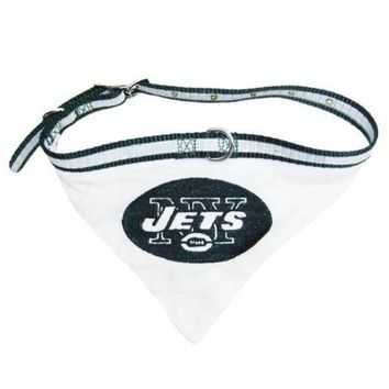ESBONI New York Jets Dog Collar Bandana