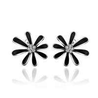 MLOVES Women's Classical Elegant Graceful Little Daisy Ear Cuffs