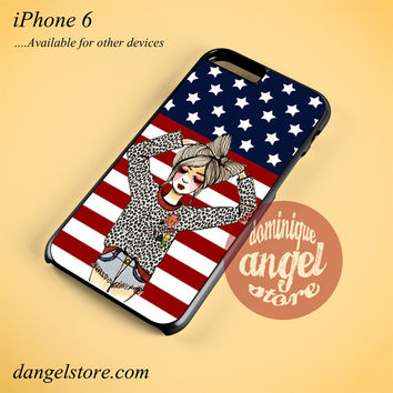American Girl Phone case for iPhone 6 and another iPhone devices