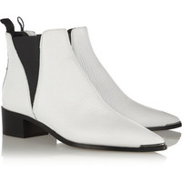 Acne Studios - Jensen textured-leather ankle boots