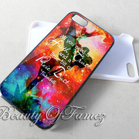 Disney Tinkerbell Quote for iPhone 4, iPhone 4s, iPhone 5, iPhone 5s, iPhone 5c Samsung Galaxy S3, Samsung Galaxy S4 Case