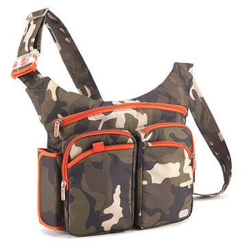 Lug Olive Camo Shortstop Excursion Crossbody Bag | zulily