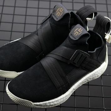 HCXX A292 Adidas Harden Vol.2 Boost Basketball Shoes Black White