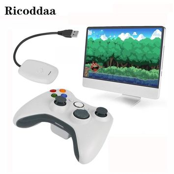Wireless Joypad 2.4GHz Controller For XBOX 360 Wireless Remote Controle Joystick For Microsoft Xbox 360 Win 7/8 Game Controller