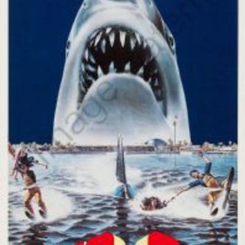 Jaws 3D Movie Poster Insert 14x36