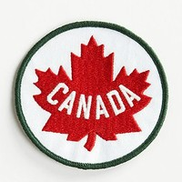 Maple Leaf Patch