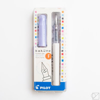 Kakuno Fine Nib Fountain Pen Soft Violet