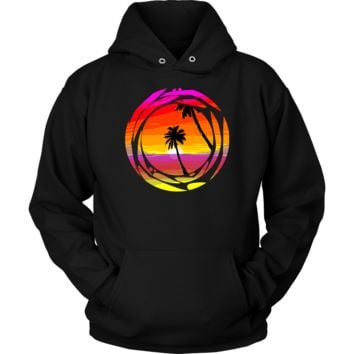 Palm Trees Tropical Home Vacation Tourist Holiday Apparel