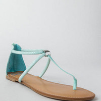 SURRIANA T-STRAP SANDAL