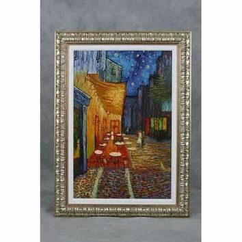 Hand Painted Reproduction of Van Gogh's Cafe Terrace on the Place du Forum, The