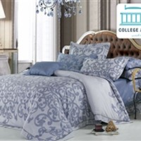 Coral Shade Twin XL Comforter Set - College Ave Designer Series Dorm Bedding Essentials For College