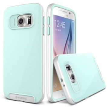 Galaxy S6 Case, Verus [Crystal Mixx][Mint] - [Clear Cover][Dual Layer Drop Protection] For Samsung Galaxy S6