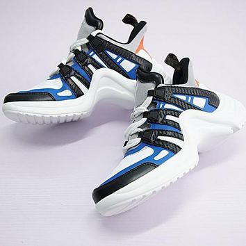 LV Louis Vuitton 18ss Sci-Fi Sneakers - Best Deal Online