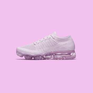 Best Deal Online 2018 Nike Air Max VaporMax Flyknit Pink Men Women Running Shoes