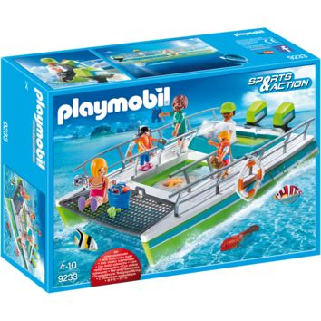 Playmobil 9233 Glass-Bottom Boat with Underwater Motor
