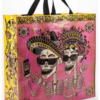 Day Of The Dead Shopper (Great for Groceries, Clothes, You Name It!)