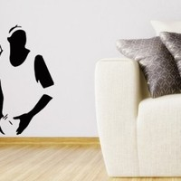 Wall Decals Basketball Player Decal Vinyl Sticker Home Decor Bedroom Sport Interior Window Decals Art Murals Chu1316