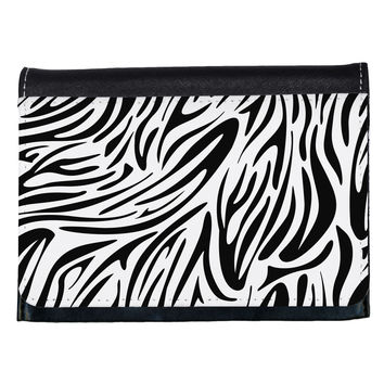Zebra Print Ladies Wallet All Over Print
