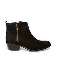 Black Leather Ankle Boots | Steve Madden Nyrvana Booties