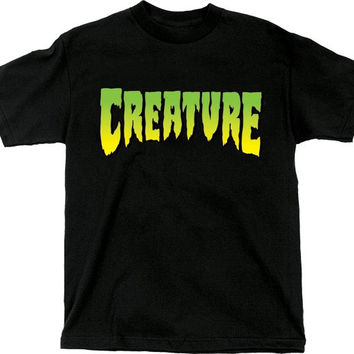 Creature Logo Tee Small Black