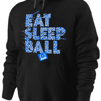 Eat Sleep Ball / Black Teal / V2 / H