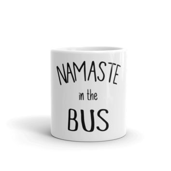 NAMASTE in the Bus Mug