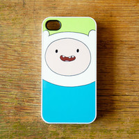 Finn Adventure Time iPhone 4 Case New iPhone 4 & iPhone 4s Cartoon Network