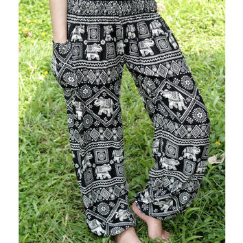 Shop pyjama pants on wanelo - Pyjama elephant ...