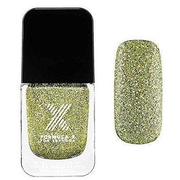 Nail Polish Brilliants Formula X for Sephora Light Me Up Edison - Lemon-Lime Iridescent