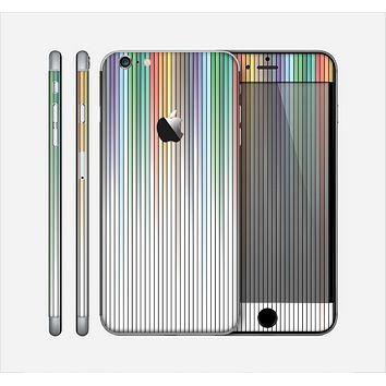 The Faded Pastel Color-Stripes Skin for the Apple iPhone 6 Plus