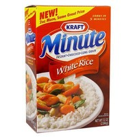 Minute Instant Enriched Long Grain White Rice, 72oz