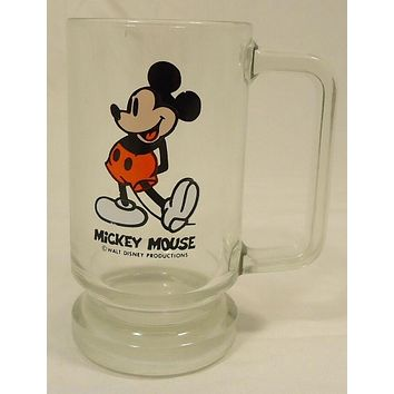 Disney Mickey Mouse Glass Mug