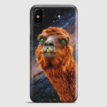 LlamaS Green Nebula Encounter iPhone X Case | casescraft